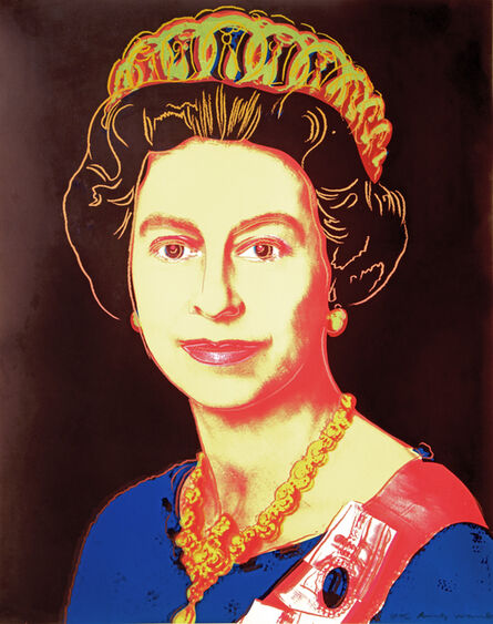 Andy Warhol, 'Reigning Queens - Queen Elizabeth II of The United Kingdom (Trial Proof)', 1985
