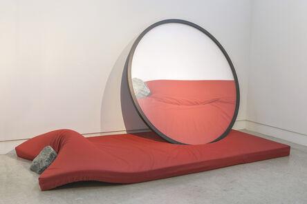 HIROFUMI ISOYA, 'Parallax Gesture (Red, Green)', 2015