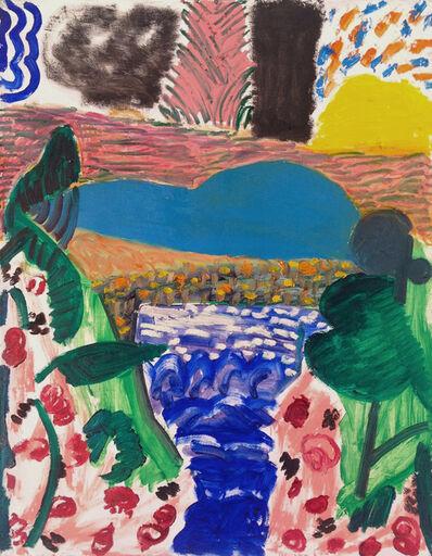 Shara Hughes, 'Lake Walk', 2014
