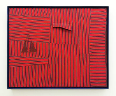 Amanda Curreri, 'Qui vive* (Be Alert!), Red [*early motto and logo of the Daughters of Bilitis]', 2016