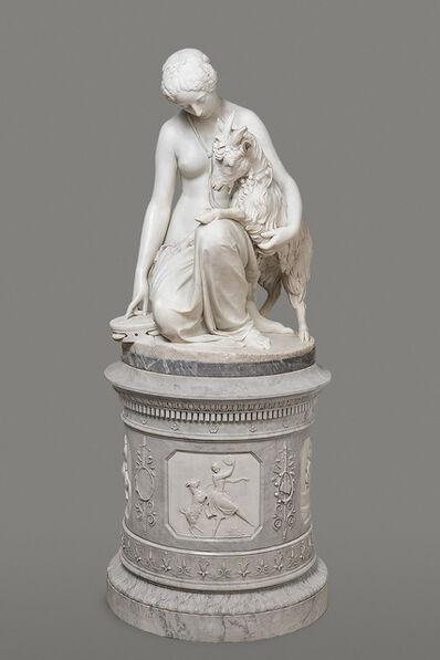 Antonio Rossetti, 'Esmeralda', 1856
