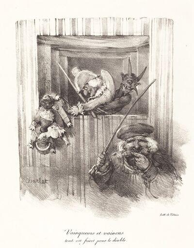 Nicolas-Toussaint Charlet, 'Vainqueurs et vaincus, tout est fricot pour le diable (The Vanquishers and the Vanquished, All Food for the Devil)', 1822