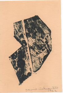 David Rabinowitch, 'Antipainting', 1962