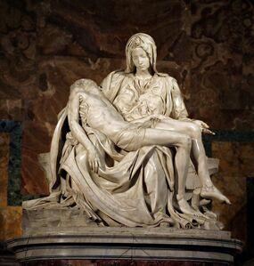 Michelangelo Buonarroti, 'Pietà', ca. 1500