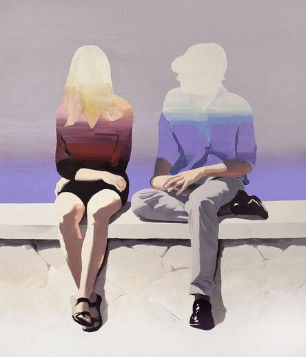 Jarek Puczel, 'Couple at the Seaside', 2019