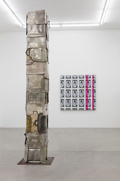 Flavio Favelli, 'Silver Plated', 2019