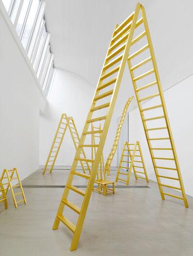 Yoko Ono, ''Golden Ladders'', 2015