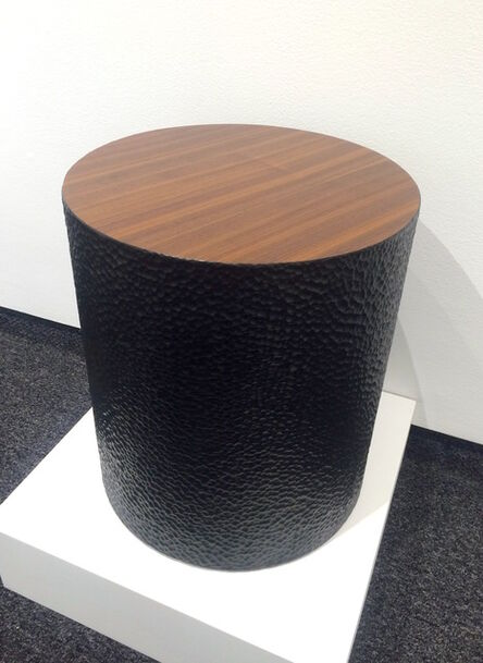 John Eric Byers, 'Walnut Drum Table', 2015