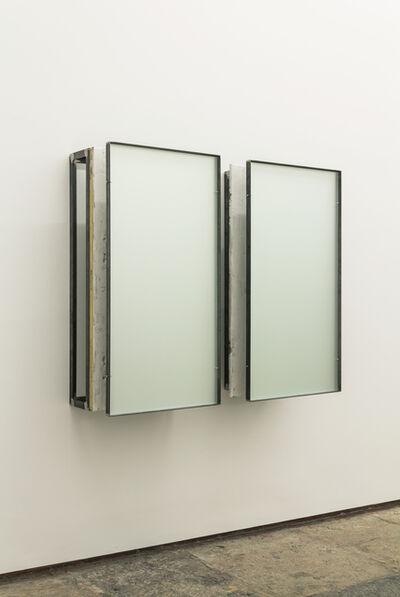 Carlos Nogueira, 'construção com branco 3 | construction with white 3 (diptych)', 2012-2015