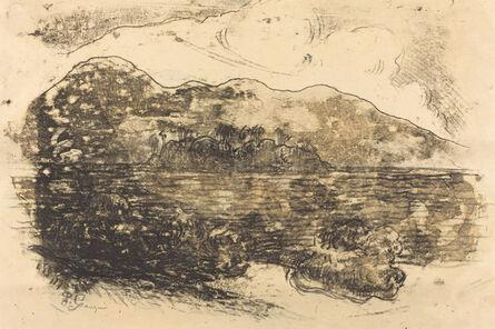 Paul Gauguin, 'Tahitian Shore [recto]', ca. 1900