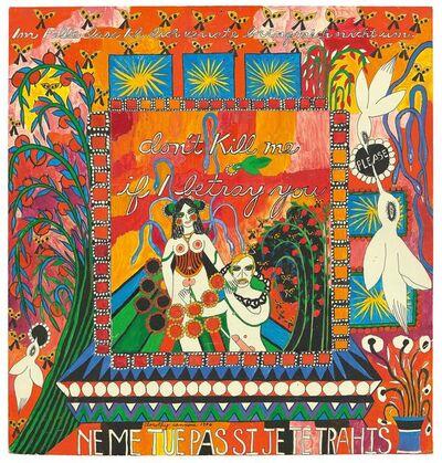 Dorothy Iannone, 'Don't kill me if I betray you', 1976