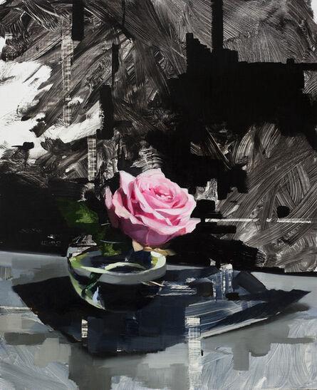 Jon Doran, 'Pink Rose and Black', 2018