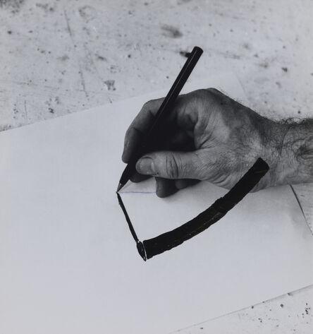 William Wegman, 'Drawing Hand', 1975