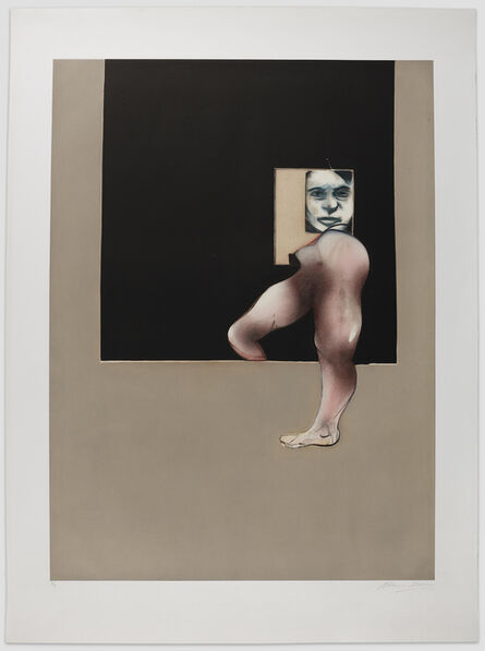 Francis Bacon, 'Triptych 1991, after the right panel of Triptych 1991', 1992