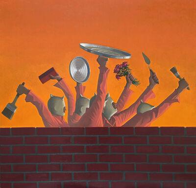 Vonn Cummings Sumner, 'Wall Mob', 2017