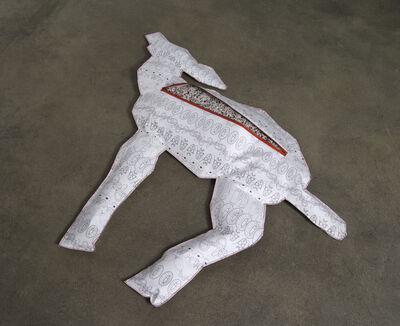 Marina Zurkow, 'Body Bag for Deer (Polyisobutylene / PIB)', 2013