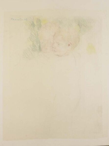 Mary Cassatt, 'Woman and Child in Front of a Fruit Tree', ca. 1893