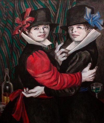 Enrique Grau, 'Las gemelas', 1986