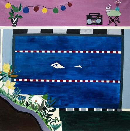 Diane Bellier, 'Pool Party', 2021