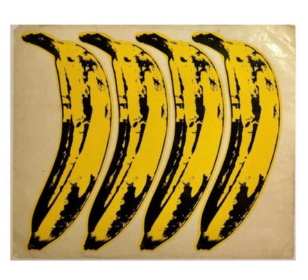"""Andy Warhol, 'SET OF 4- """"The Velvet Underground Banana Stickers"""", Original Unpeeled Banana Stickers Designed by Warhol for the  Debut Album """"The Velvet Underground & Andy Warhol"""", Extremely RARE', 1967"""