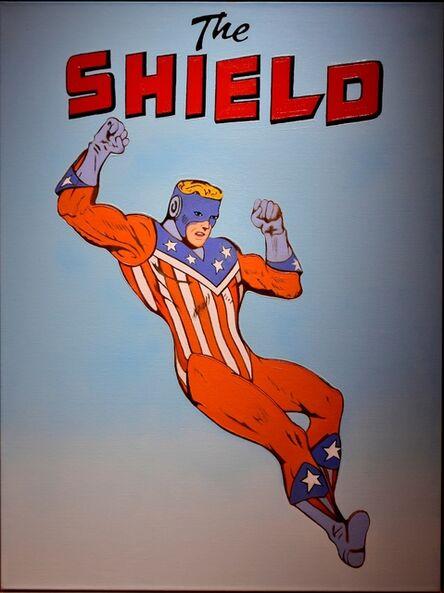 Mel Ramos, 'The Shield', 2015