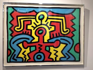Keith Haring, 'Growing Suite (No 5)', 1988