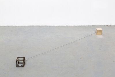 Francesco Arena, 'Keats between cubes', 2016