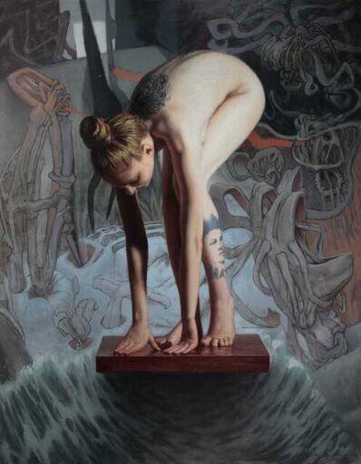 PABLO SANTIBÁÑEZ SERVAT, 'Surreal Nude', 2021