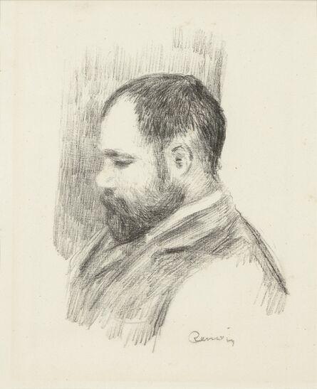Pierre-Auguste Renoir, 'Ambroise Vollard, from L'Album des Douze Lithographies Originales de Pierre-Auguste Renoir (Delteil 37)', 1904