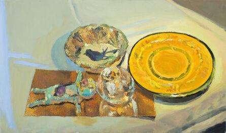 George Nick, 'Bluebird with Katya's Ceramic Figure', 2014