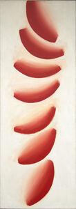 Wojciech Fangor, 'Red Moons 2', 1961
