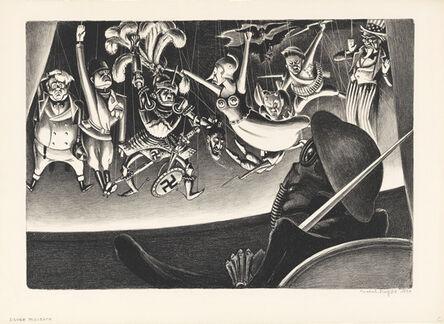 Mabel Dwight, 'Danse Macabre', ca. 1934