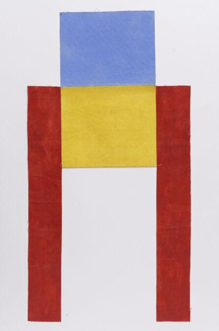 Louis Cane, 'Toile découpée', 1974