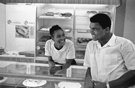 Thomas Hoepker, 'Muhammad Ali Flirts with Belinda', 1966