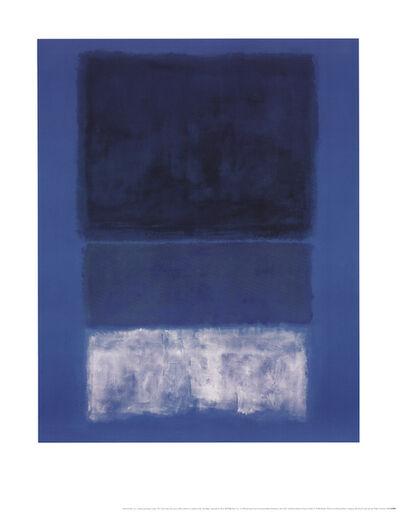 Mark Rothko, 'No 14 White and Greens in Blue', 1998