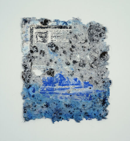 Adebunmi Gbadebo, 'True Blue: 18th Hole, 9', 2020