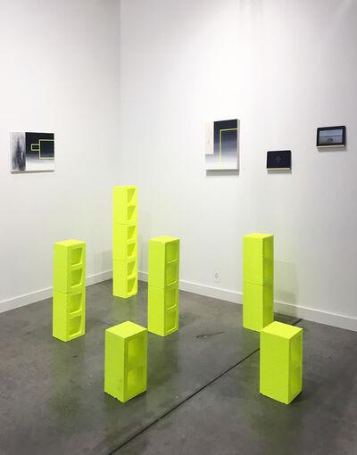 Guillermo Garcia Cruz, 'Installation 3 blocks tower', 2018