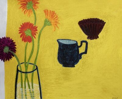 Angela A'Court, 'Yellow Table ', 2012