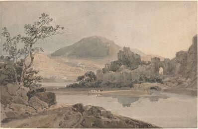 Thomas Girtin, 'Conway Castle, North Wales', ca. 1800