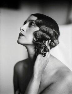 Jacques Henri Lartigue, 'Renée, Juan-Les-Pins, France, May', 1930