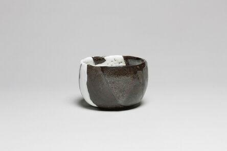 Ohi Chozaemon X, 'Tea Bowl with Black and White Glaze', 2015