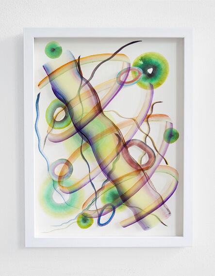 Simone Albers, 'Universal energies VI', 2018