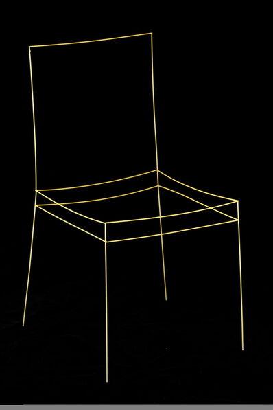 SERKAN ÖZKAYA, 'Spaghetti Chair', 2015