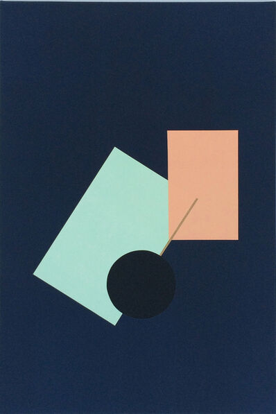 Morné Visagie, 'Collapsing Sunset / The Abandonment of Romance VIII', 2015