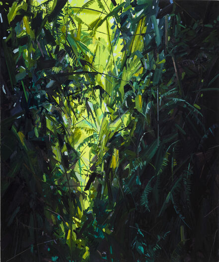 Claire Sherman, 'Leaves and Vines', 2017