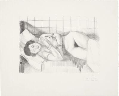 Henri Matisse, 'Figure endormie, châle sur les jambes (Sleeping Figure, Shawl over Legs)', 1929