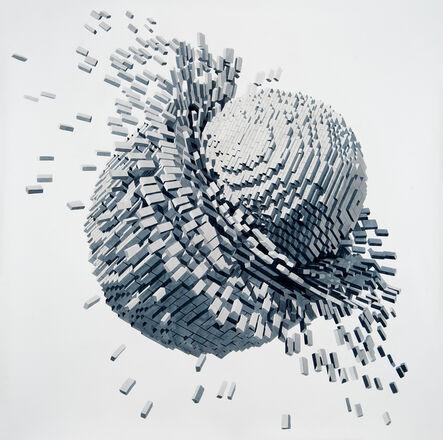 Dagoberto Rodríguez, 'Colisión', 2020