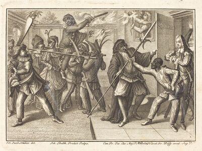 Johann Balthasar Probst after Johann Jacob Schübler, 'The Captain Regains His Freedom', 1729