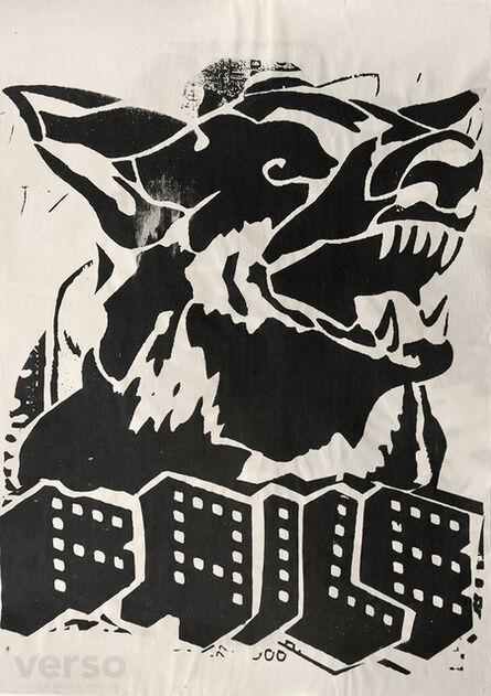 FAILE, 'Faile Dog Black Paster', 2006