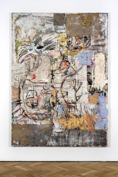 Daniel Crews-Chubb, 'Namazu and Zumbi broken (blue yellow white)', 2017